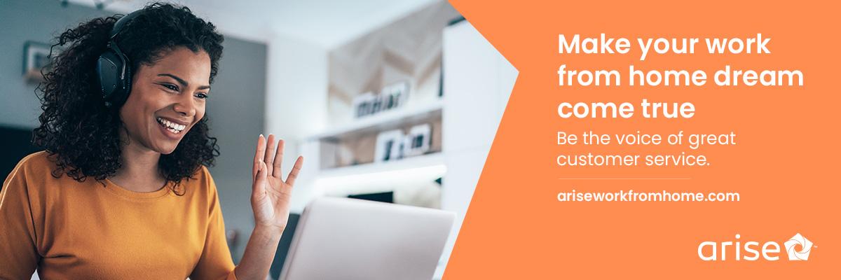 Représentant de Service à la clientèle – Travail à domicile at Arise Virtual Solutions
