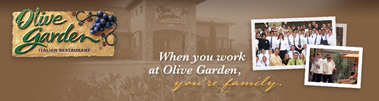 great one - Olive Garden Hiring