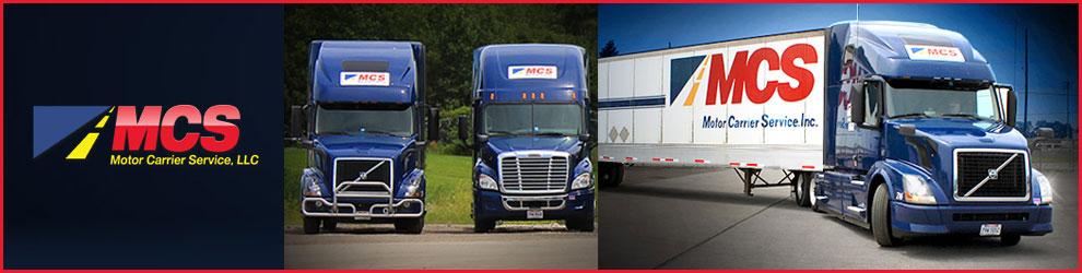 OTR Regional Truck Driver Jobs in Erie, PA - Motor Carrier Service