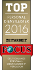 Focus Siegel Top Personaldienstleister Zeitarbeit Trenkwalder