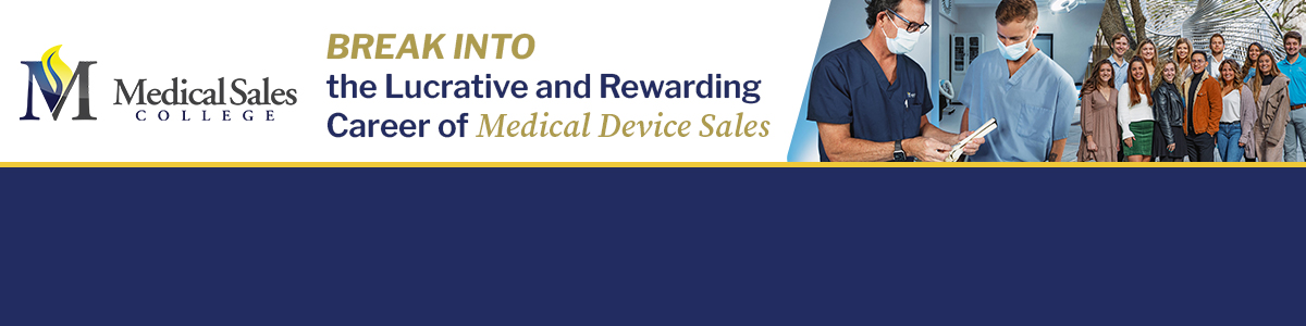 Medical Sales - Paid Internship at Medical Sales Recruiting