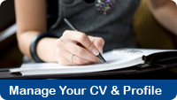 Manage your CV & Profile