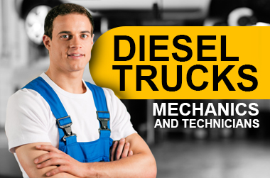 Diesel Mechanics & Technicians at Dickinson Fleet Services