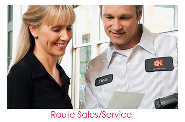 find route sales service jobs at gk services route sales