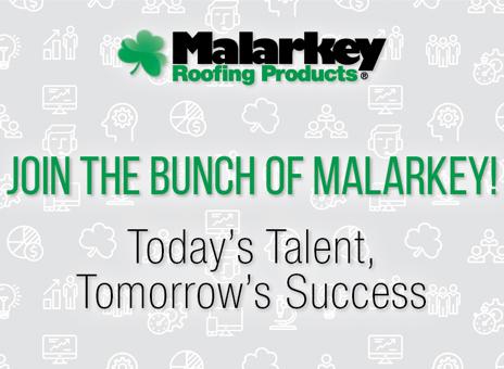 Key Job Opportunities At Malarkey Roofing: