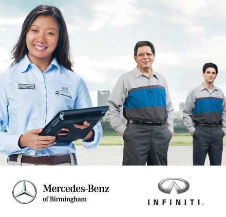 Jobs and careers at the mercedes benz and infiniti of for Career mercedes benz
