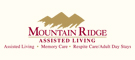 Mountain Ridge Assisted Living